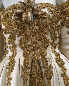 Designer: Karl Lagerfeld (French, born Hamburg, 1938) Date: ca. 1990 Culture: French Medium: silk, metal