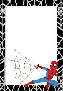 Spiderman Birthday Invitations, Superhero Birthday Party, Birthday Party Invitations, Birthday Cards, Spiderman Cards, Spiderman Theme, Free Printable Invitations, Birthday Frames, Themed Parties