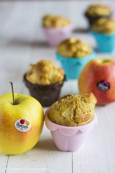 Muffin alle mele gialle e rosse Val Venosta | ricetta light senza burro | Semplicemente Light