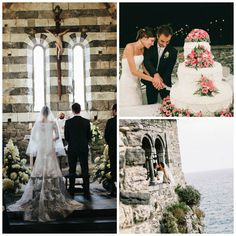 Multicultural Italian and Polish Hotel Wedding at Le Terrazze, Italy