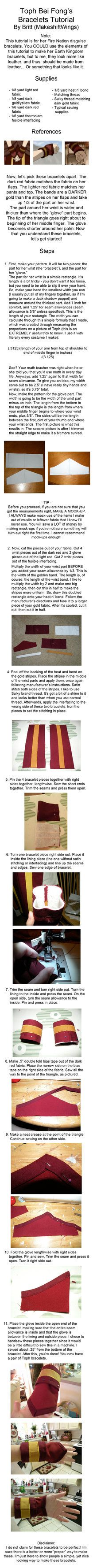 First of hopefully 3 tutorials for Toph's Fire Nation disguise! Here is how to make her bracelet/glove thingys. Toph Cosplay, Cosplay Diy, Cosplay Ideas, Diy Costumes, Costume Ideas, Cosplay Costumes, Halloween Costumes, Costume Tutorial, Cosplay Tutorial