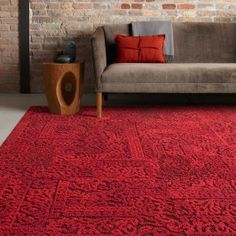 Chenille Charade in Persimmon. So rich in color, it's sure to satisfy all of your design cravings.