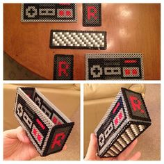 Nintendo box hama perler beads by kittymuffinzz