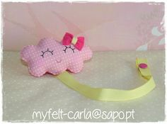 Sweet cloud (pacifier holder)