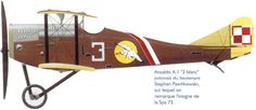 Ansaldo A.1 Balilla - Polish air force 1920's