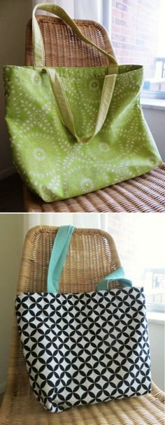 Classic Tote Sewing Tutorial