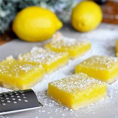 "Lemon Pie Bars | ""This is an great, simple recipe that I make with my 3 year old."""