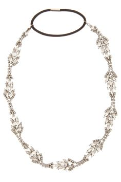 Diamond Leaves Headband By JENNIFER BEHR @ http://www.boutique1.com/