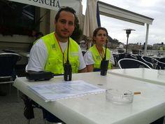 Servicio Preventivo realizado por Fundación Larrialdiak en la 46 Travesía del Paseo Nuevo - http://www.cdfortunake.com/es/pruebas-deportivas/travesia-del-paseo-nuevo.html