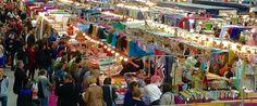 Le salon de tissu et des evenements dans le Pays-Bas, la Belgique, le Luxembourg et la France.