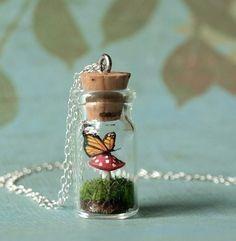 Cute Bottle necklace