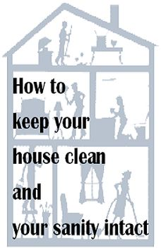 Easy tips on keeping a clean house!