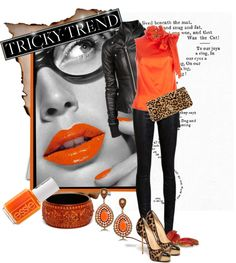 """""""Tricky Trend"""" by butterflykisses ❤ liked on Polyvore"""