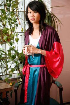 free robe pattern on Burda Style