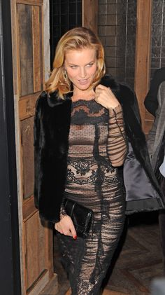 Eva Herzigova spotted wearing #dolcegabbana in London