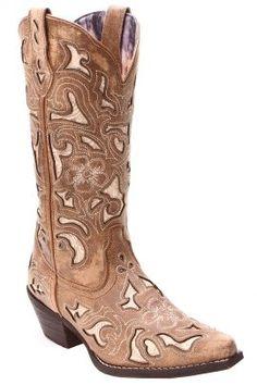 Dan Post Tan Crackle Boots 52041 front