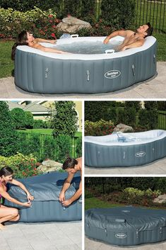 This inflatable spa is awesome!