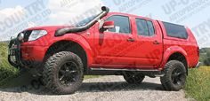Nissan Navara D40 OFF-ROAD Body Lift Kit - Up-Country 4x4