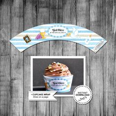 First Communion Boy Cupcake Wrapper | Communion Cupcake Wrapper | Cupcake | Baptism | Religious | Wrap | Printable | Instant Download by InspiringMomentsDG on Etsy