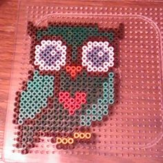 Owl perler beads by gablakkaa