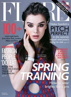Meet FLARE's May Cover Girl Hailee Steinfeld (Photo: Nino Muñoz) // www.flare.com/celebrity/cover-girls/pitch-perfect-2-hailee-steinfeld-on-becoming-a-bella/