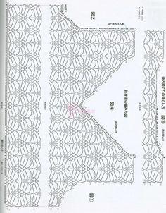 Вязание кружевного топа