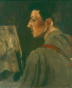Henri Evenepoel (Belgique, 1872-1899) – Portrait du peintre (1895) Musées royaux des Beaux-Arts de Belgique, Bruxelles