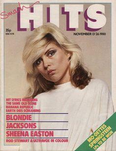Smash Hits magazine, November 13 1980 — Debbie Harry/Blondie