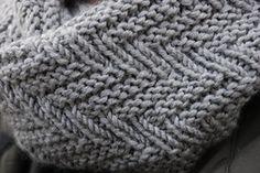 Ravelry: Fishbone Snood pattern by Elen Golub