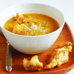 squash soup with sage and parmesan croutons butternut squash soup ...
