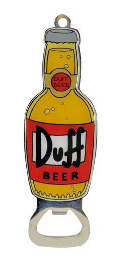 Simpsons Duff Beer Bottle Opener - Only £5!!