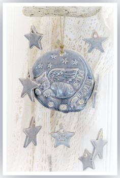 In Memory of Bailey Personalized Wind Chime by LaurelArts on Etsy, $30.00