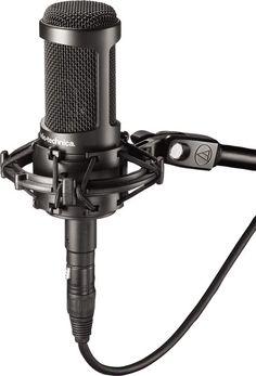 """Audio-Technica AT2050 Multi-Pattern Large Diaphragm Condenser Microphone"" #QualitySound"