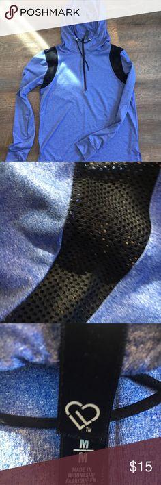 Aeropostale Exercise Hoody Mesh lining around sleeves. Never worn! aerie Tops Sweatshirts & Hoodies