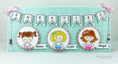 Emma, Sophie, Abigail, Banner Wishes, Alphas Upper - Jeanne Jachna - www.papersweeties.com