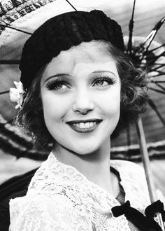 """normajeanebaker:  """"Loretta Young in I Like Your Nerve (1931)  """""""