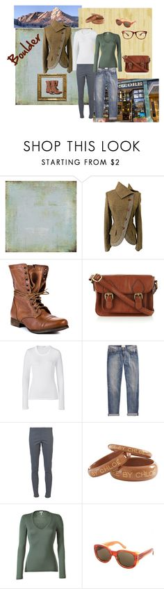 """fall in Boulder"" by maninaustin ❤ liked on Polyvore featuring Alexander McQueen, Steve Madden, Oasis, James Perse, Current/Elliott, dVb Victoria Beckham, See by Chloé, Splendid and Dries Van Noten"