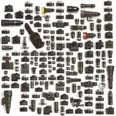 Nikon Gear Arranged Neatly: This is One Photographers Collection