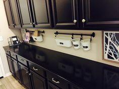Diy Kitchen Remodel, Double Vanity, Kitchen Cabinets, Bathroom, Home Decor, Washroom, Decoration Home, Room Decor, Kitchen Base Cabinets