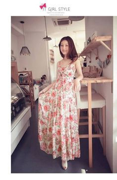 My floral dressie Floral Chiffon Dress, Chiffon Tops, Modest Dresses, Dresses For Work, Skirt Fashion, Fashion Dresses, Korean Fashion Summer, White Maxi, Coat Dress