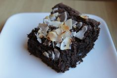Chocolate Coconut Almond Cake (Gluten-Free)