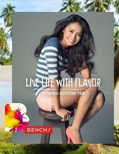 Kathryn Bernardo - Bench 2014 Filipina Actress, Filipina Beauty, Daniel Padilla, Kathryn Bernardo, Child Actresses, Real Beauty, Asian Woman, Photography Tips, Fashion Models