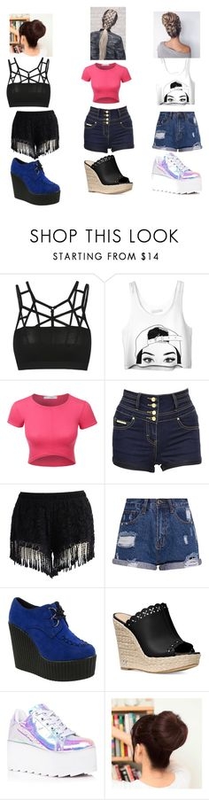 """Untitled #662"" by megibson2005 on Polyvore featuring LE3NO, Jane Norman, Chicwish, Truffle, Michael Kors, Y.R.U., Cuteberry and Masquerade"