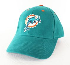 New Miami Dolphins Hat Cap Old Logo Mens Womens Adjustable Fitted Aqua Green #MiamiDolphins