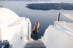 Stripes & Stairways | Santorini |