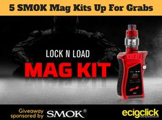 Ecigclick SMOK Mag Kit Giveaway