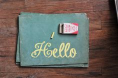 Vintage Chalkboards and AntiDust Dustless Chalk / by TheWildPlum, $38.00