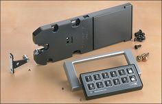 Remote-Control Electronic Lock - Hardware