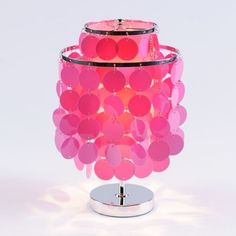 Groovy Discs Accent Lamp contemporary table lamps