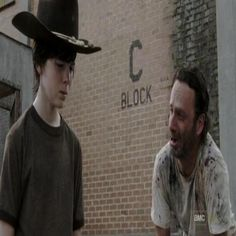 'The Walking Dead': 23 Of The Funniest Rick & Carl Dad Jokes. see them here: http://www.chaostrophic.com/walking-dead-23-funniest-rick-carl-dad-jokes/